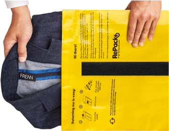 RePack, reusable packaging