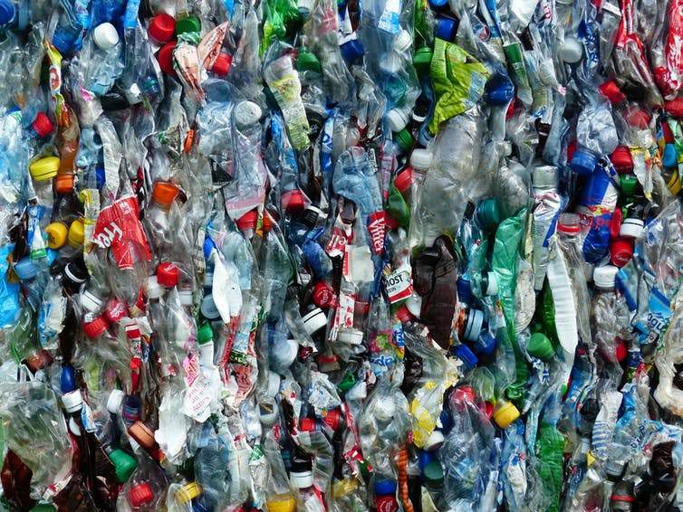 petro-plastic based bottles