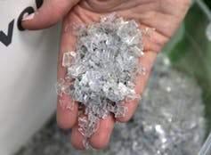 plastics in a hand