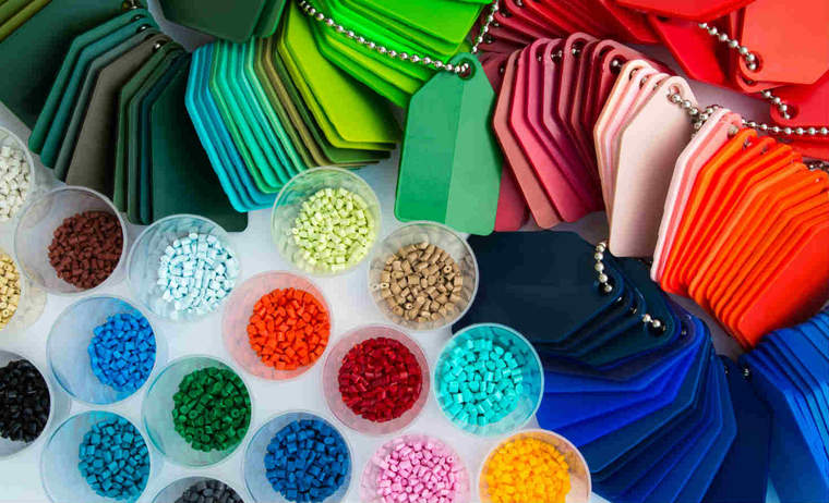Polymer beads used in plastic manufacturing