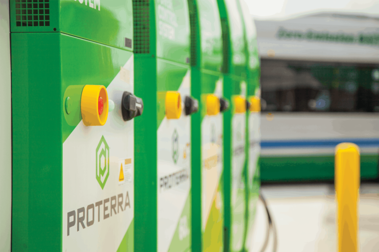 Proterra charging system