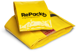 RePack's returnable, reusable packaging.