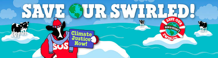Ben & Jerry's Save Our Swirled ice cream flavor