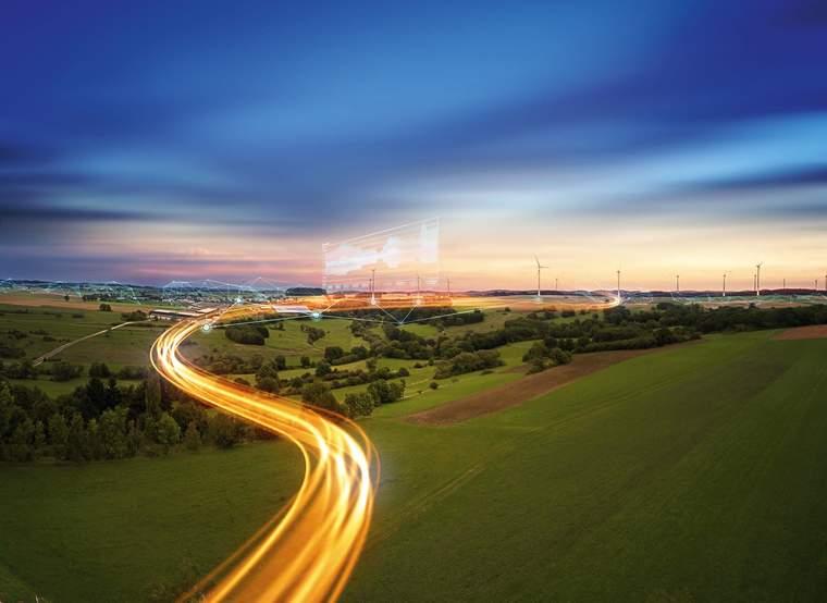 Siemens microgrid, visual