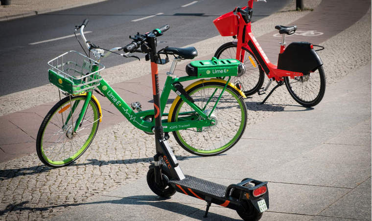 electric scooters and electric bike