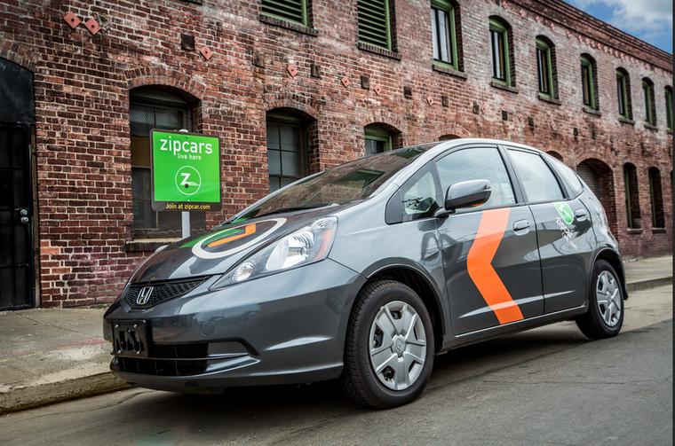 Honda ZipCar one-way carsharing