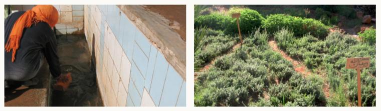 Ikhttart irrigation