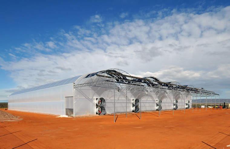 Seawater Greenhouse, Australia