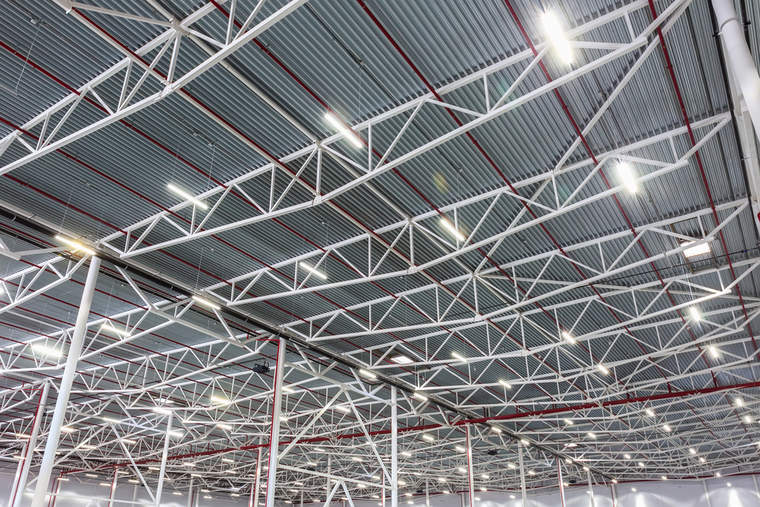 LED lighting, warehouse