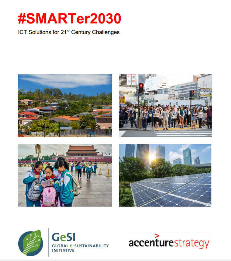 SMARTer2030 report cover