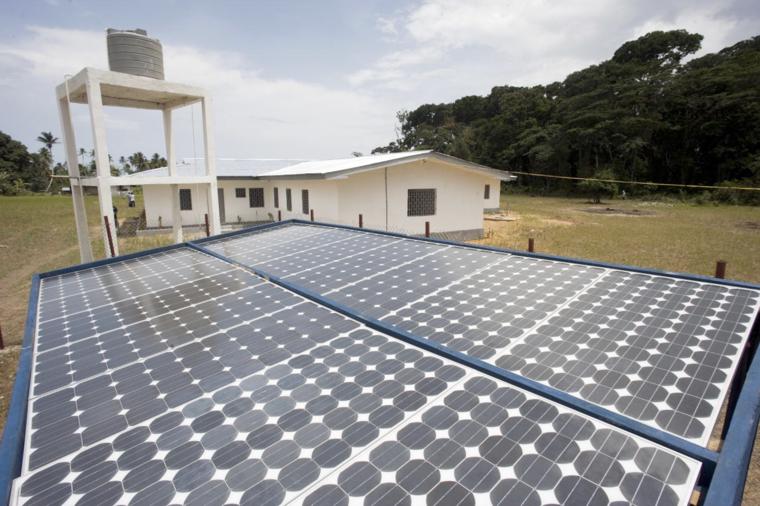 Solar panels in Liberia