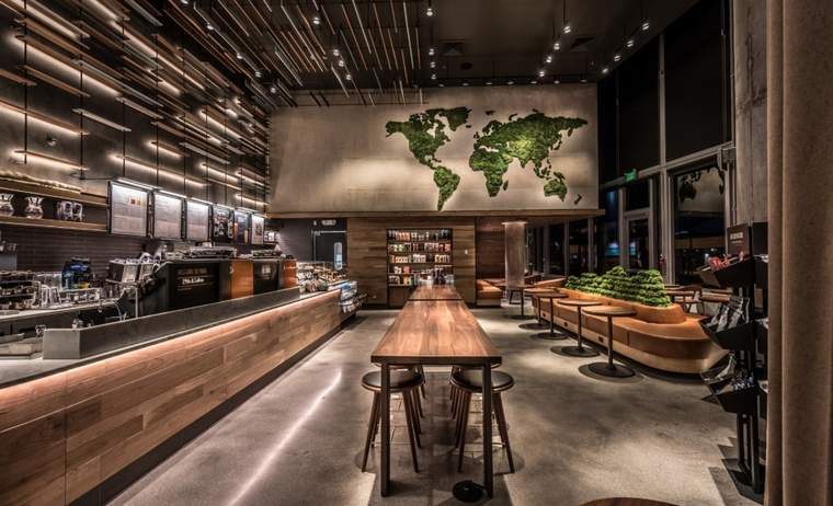"Starbucks is working to build 10,000 ""greener stores"" by 2025."