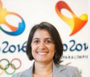 Tania Braga; Sustainability, Diversity and Legacy Head, Rio 2016