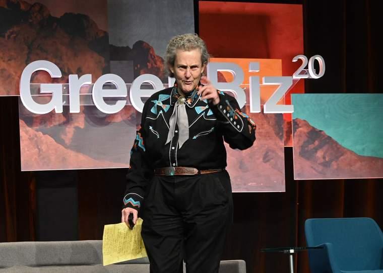 Temple Grandin, GreenBiz 20