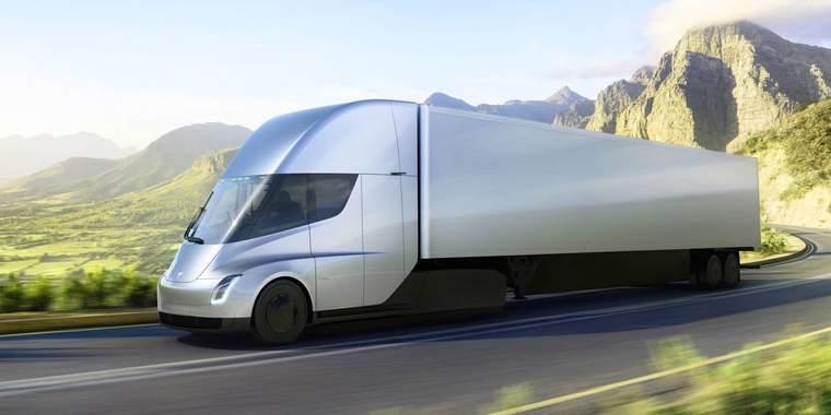 Tesla, semi-truck