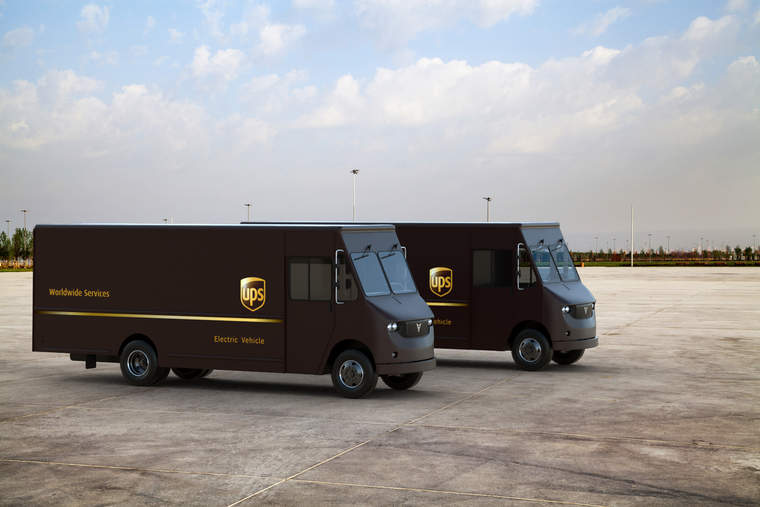 Thor Trucks has partnered with UPS on a new electric delivery truck.