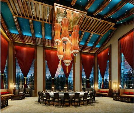 Tianjin Hilton dining room