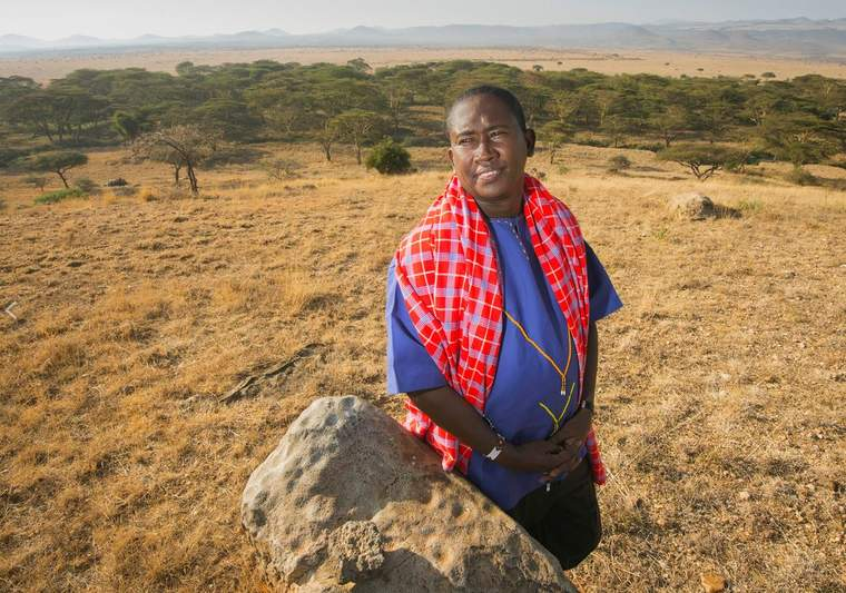 Tom Lalampaa is a community development manager for the Northern Rangelands Trust.