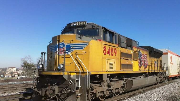 U.S. freight train system