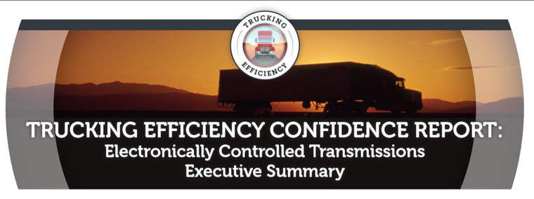 Trucking Efficiency report header