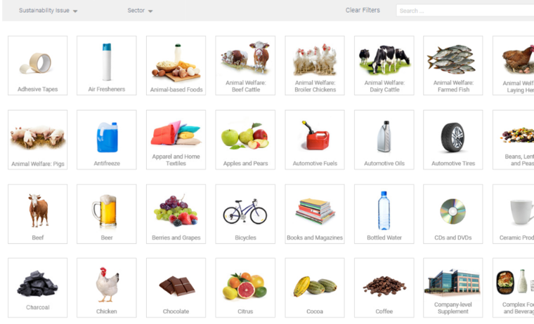 The TSC Product Finder