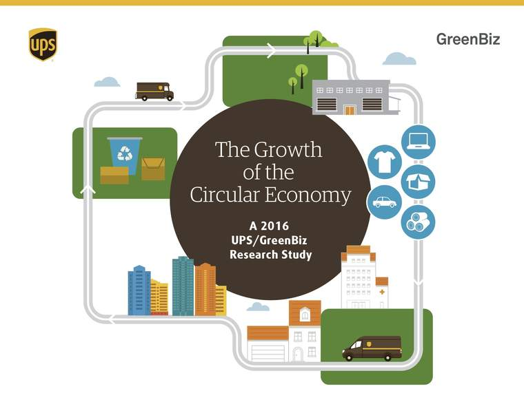 Cover image for The Growth of the Circular Economy