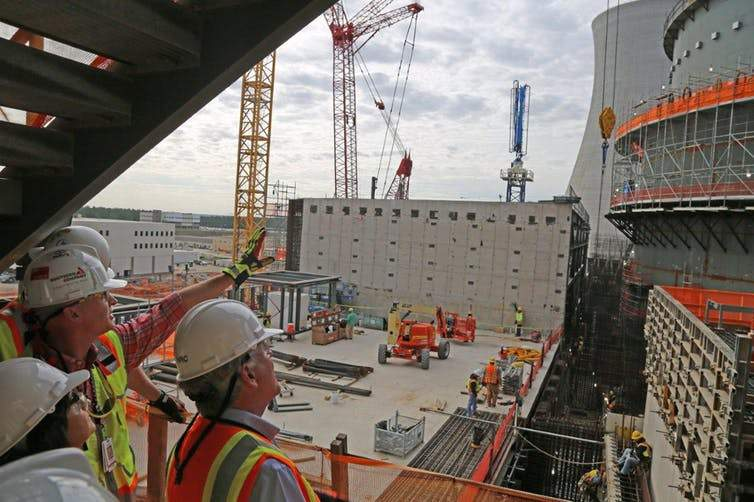 Construction of the Vogtle nuclear power plant