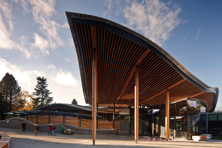 Petal-certified VanDusen Botanical Garden Visitor Center