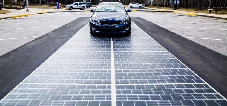 Colas Wattway solar tiles