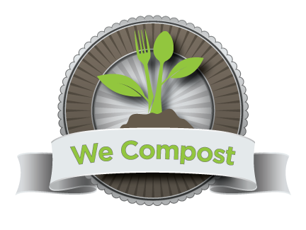 We Compost logo