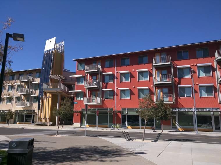West Davis Apartment buildings