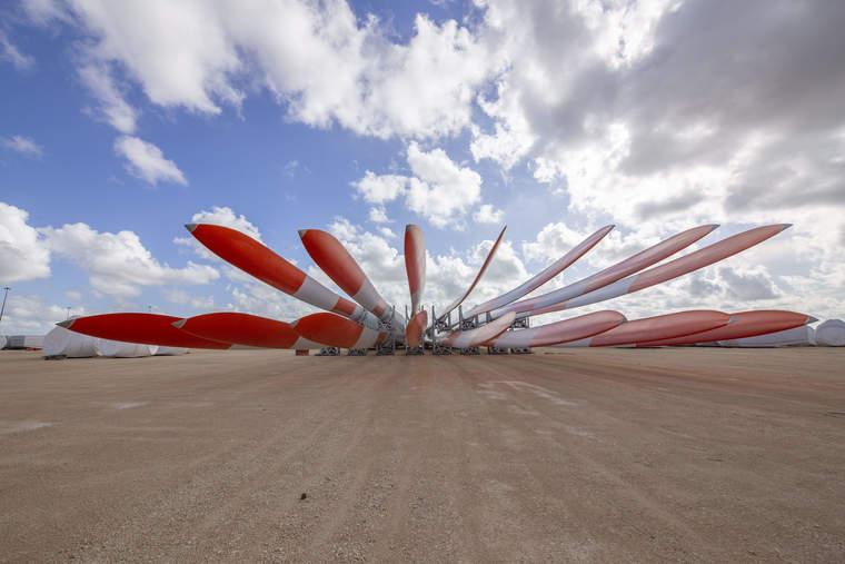 windmill blades, turbine blades