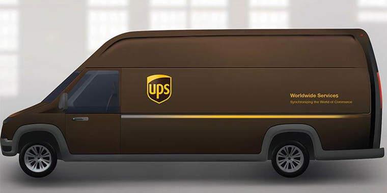Workhorse, UPS truck