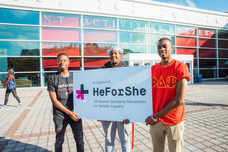 HeForShe, #YearOfMaleAllyship