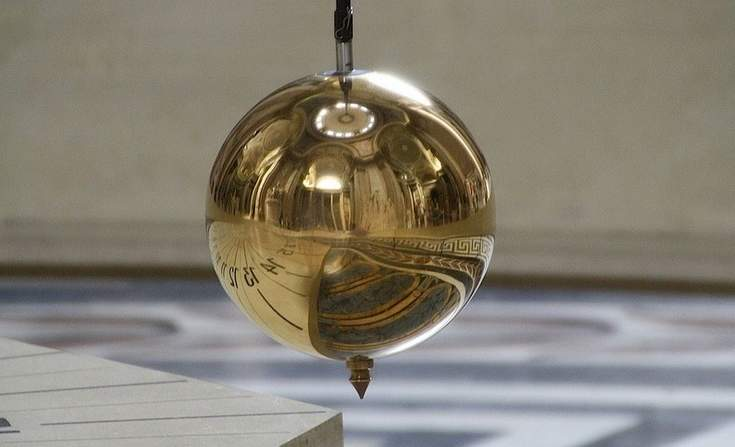 Foucalt's pendulum at the United Nations in New York City