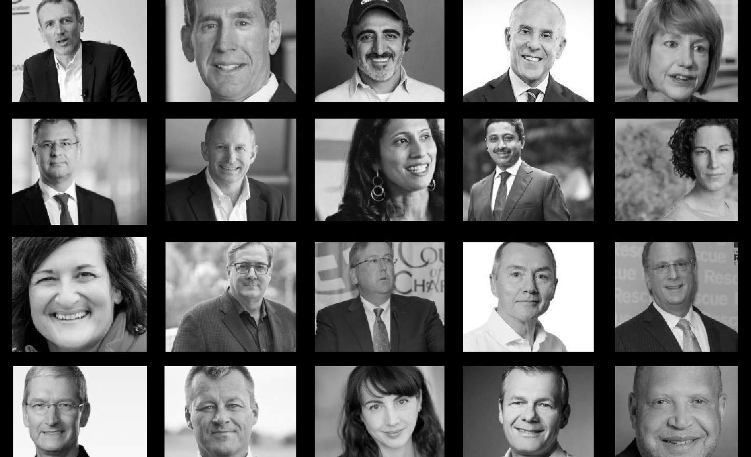 20 C-suite sustainability champions for 2020