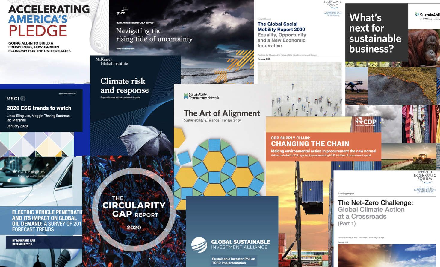 Report Report: ESG, supply chains, net zero and EVs