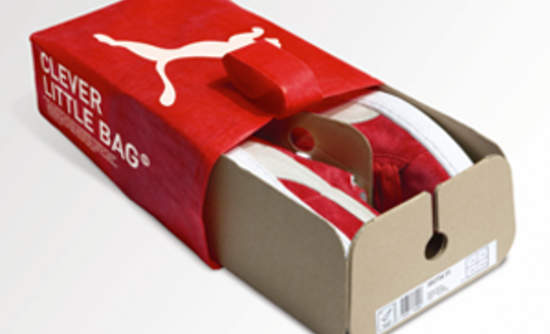 Puma's 'Clever Little Bag' Slashes Sneaker Packaging | GreenBiz