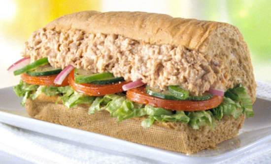 Pollock halls for Best tuna fish sandwich
