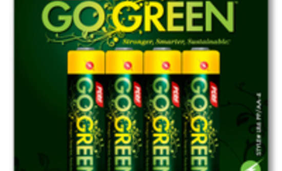 Maxell Perf Go Green Launch Battery Products