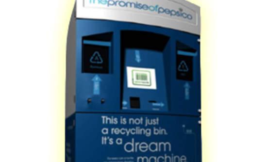 Pepsi's Dream Machine Aims to Make Recycling a Slam Dunk   GreenBiz