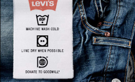 c0beb8473d4 Levi Strauss & Co. and Goodwill have teamed up on a new initiative to lower  the lifecycle impacts of jeans by giving consumers advice on how to care  for ...