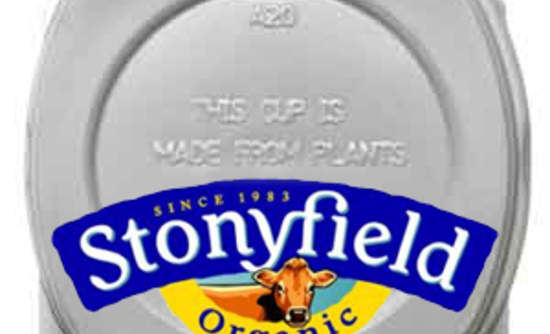 c19df2676 Today, Stonyfield Farm, the organic yogurt company, is unveiling a new  packaging solution: A yogurt cup made from corn.