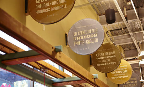 ECOR Whole Foods Signage