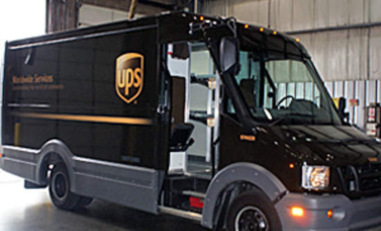 UPS Boosts Mileage 40% with Prototype Plastic Delivery Vans