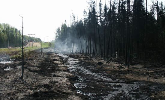 pipeline spill