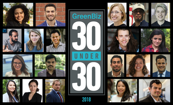 The 2018 GreenBiz 30 Under 30 | GreenBiz