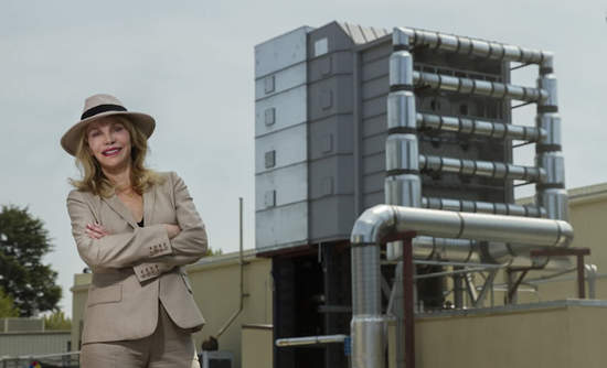 Global Thermostat, demo plant, Graciela Chichilnisky