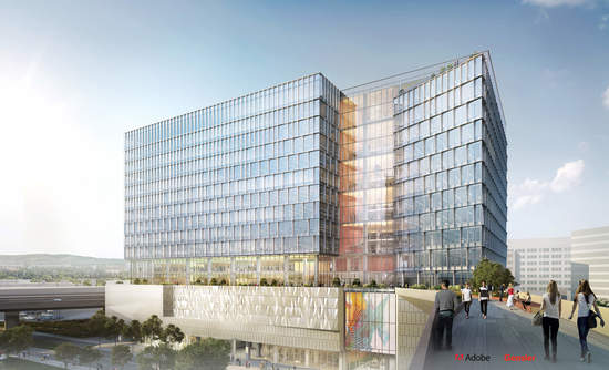 Adobe all-electric headquarters