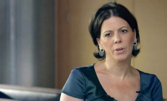 Video still of Alexandra Palt, L'Oreal's CSO